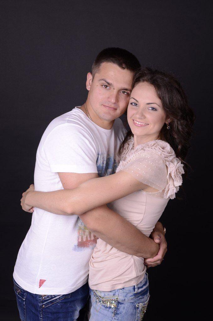Николай Беззубенко и его жена Юлия