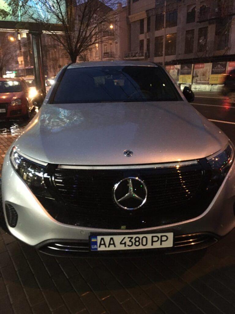 Первый Mercedes EQC в Украине