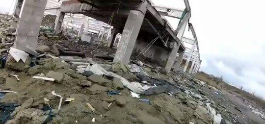 Все, що залишилося від Metro у Донецьку