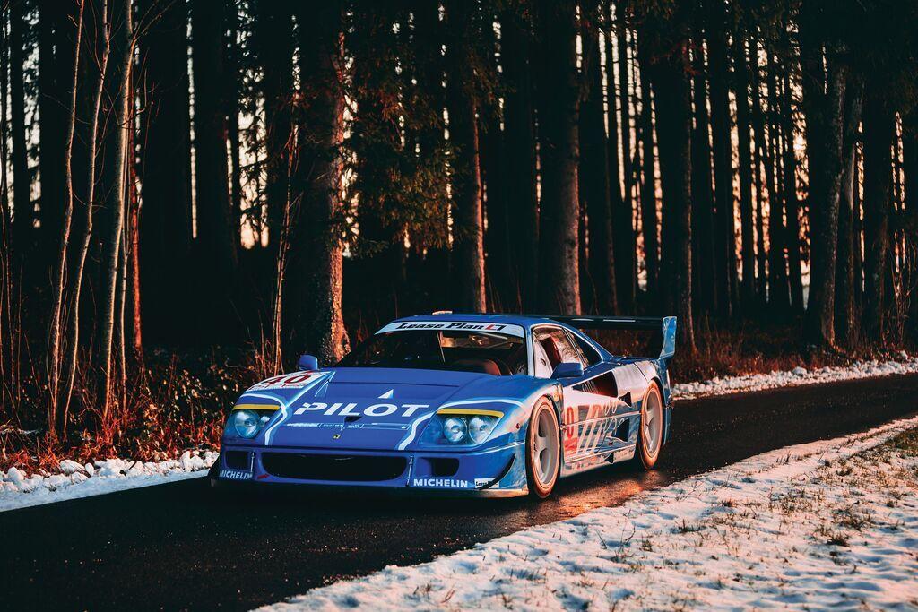 1987 Ferrari F40 LM – $5 568 875