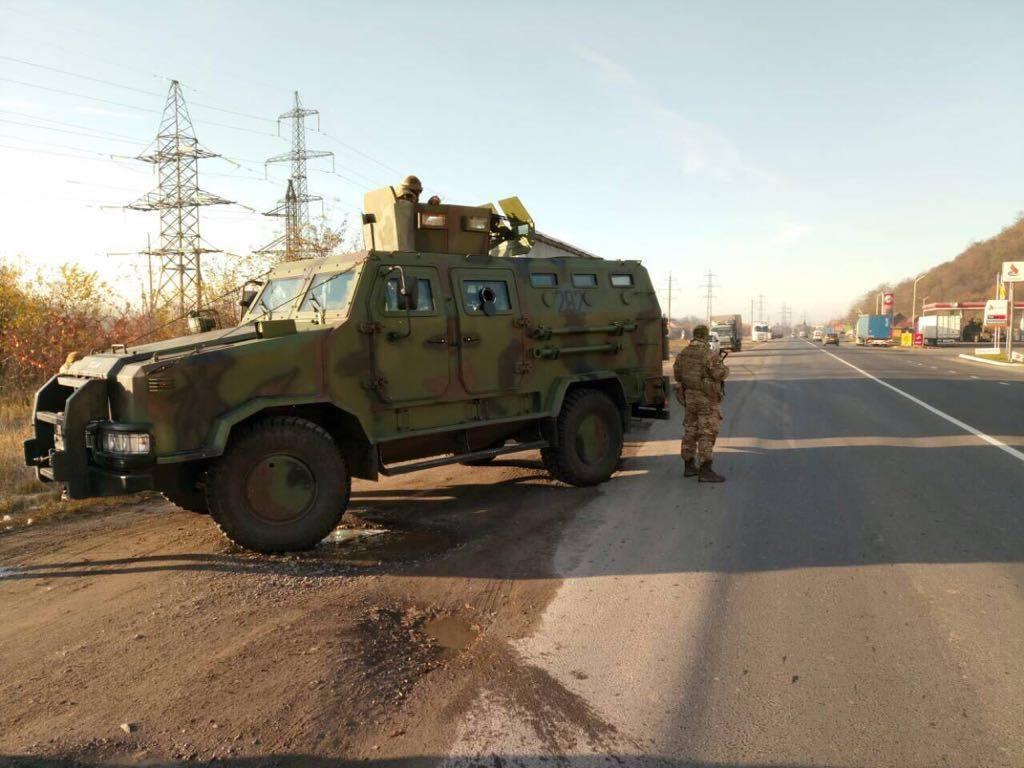 Операція силовиків у Закарпатті з виявлення контрабанди