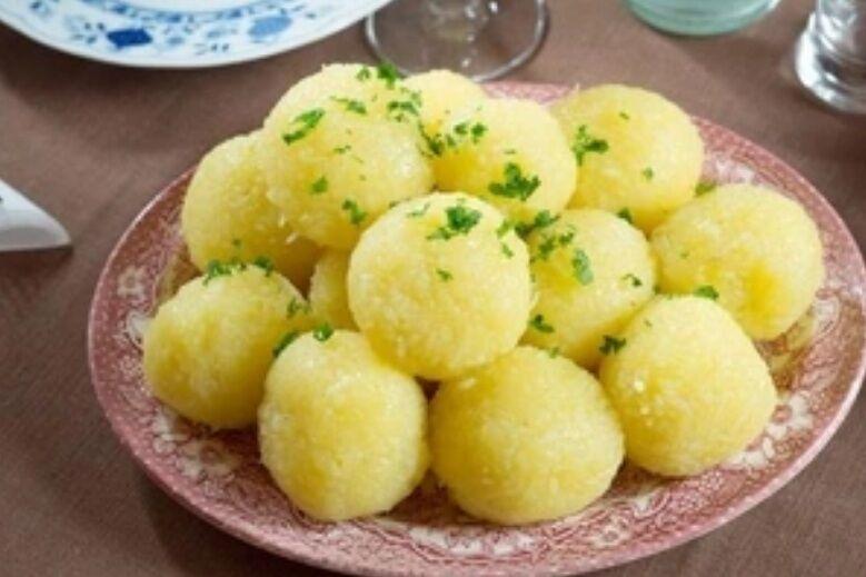 Рецепт самых вкусных клецек по-немецки