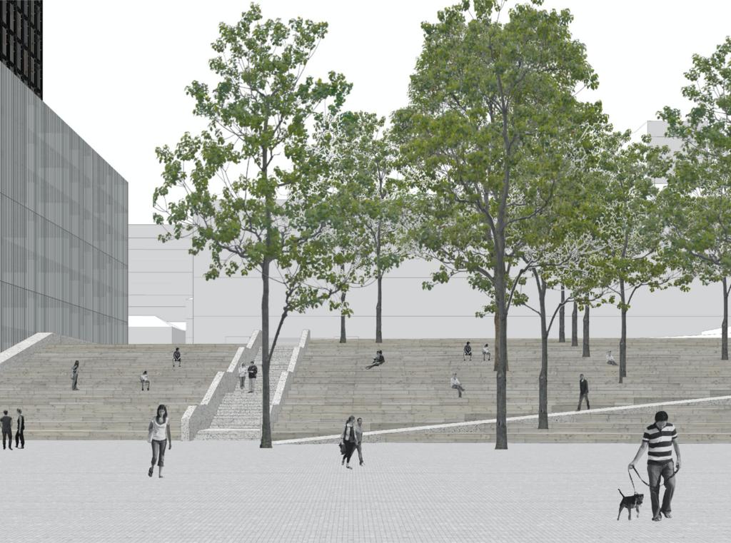 Киевлянам показали, каким будет новое здание Киевпроекта
