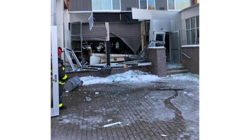 В США произошел взрыв в отеле