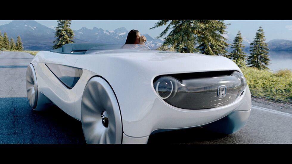 Augmented Driving Concept от Honda