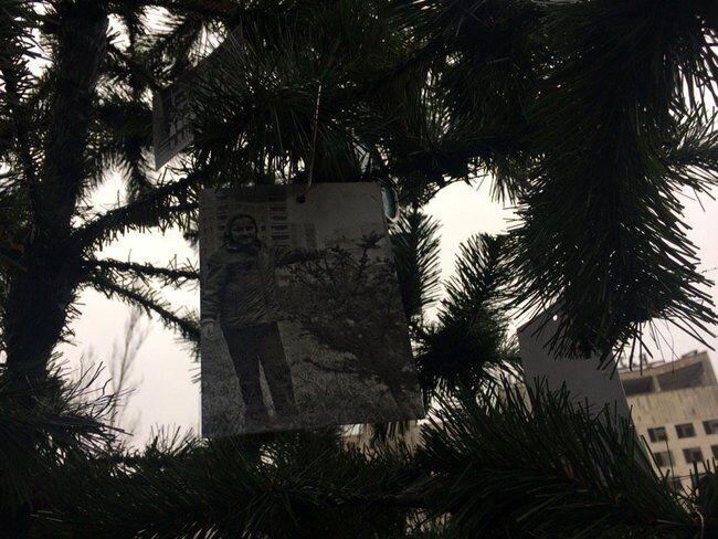 У Прип'яті встановили новорічну ялинку