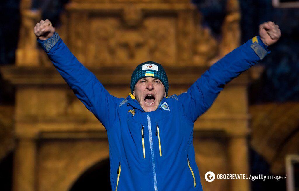 Дмитро Підручний після перемоги на чемпіонаті світу