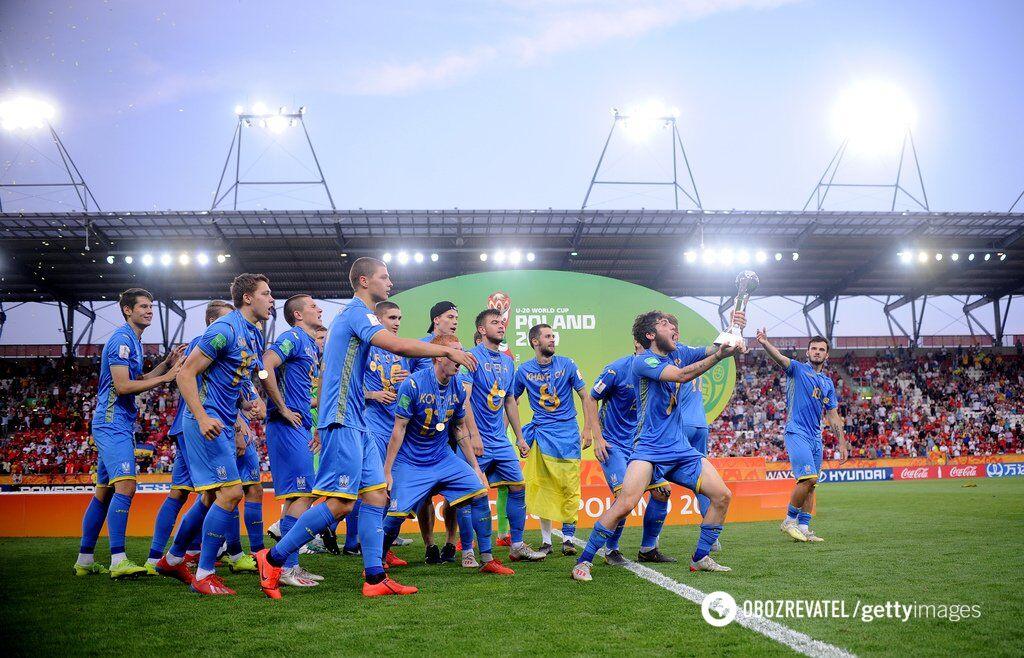 Молодежная сборная Украины (U-20) выиграла чемпионат мира в статусе аутсайдера турнира