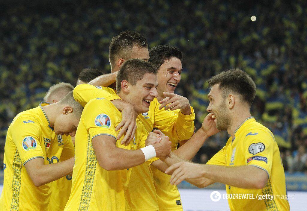 Нынешнее поколение сборной Украины - одно из лучших в истории команды