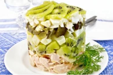Рецепт дуже оригінального салату на свято