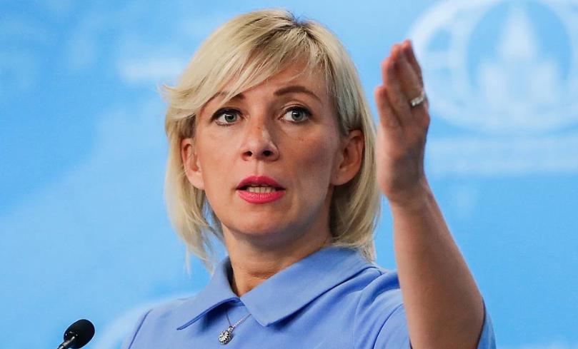 Захарова оправдала нападки Путина на Польшу