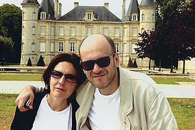 Денис Евстигнеев со второй женой