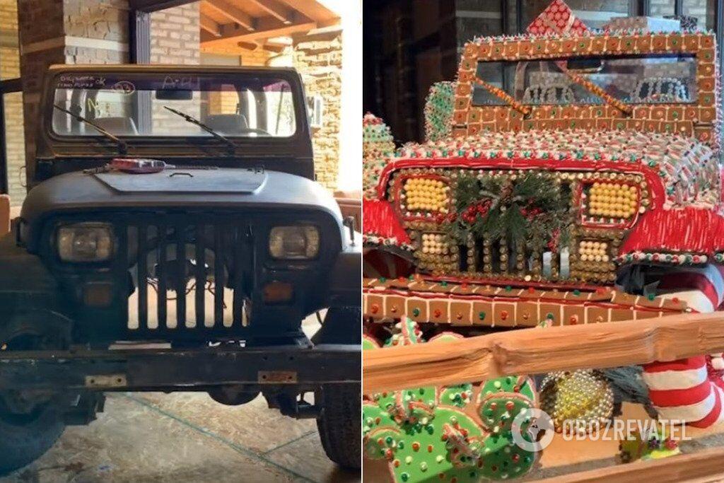Jeep Wrangler перетворився завдяки солодощам