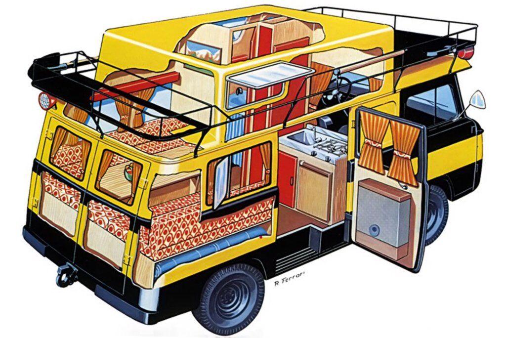 Автокемпер Safari на шасі УАЗ-452 італійської фірми Schieppati