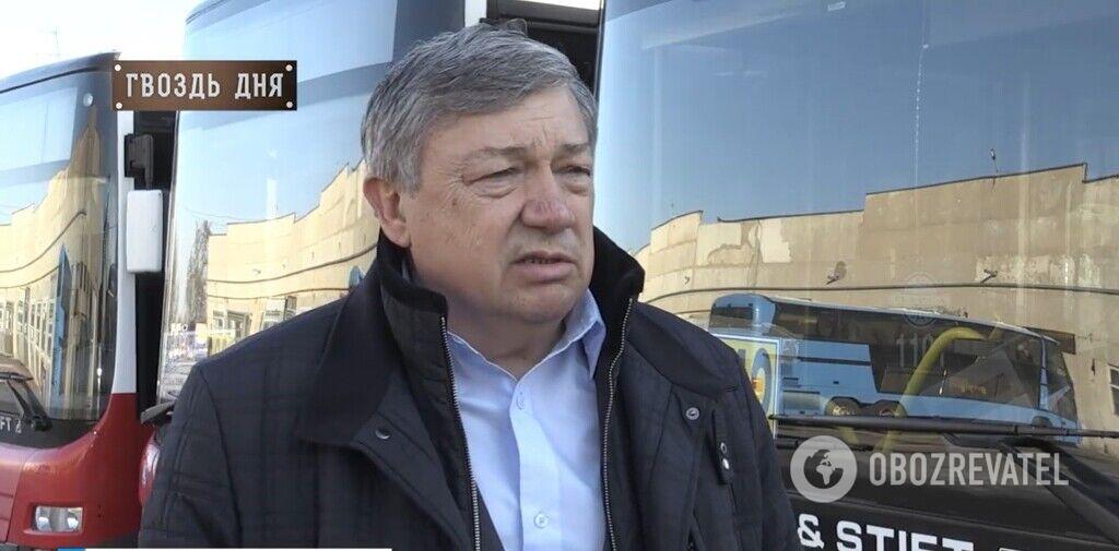 """Директор """"Севертранса"""" опроверг заявления """"слуги народа"""""""
