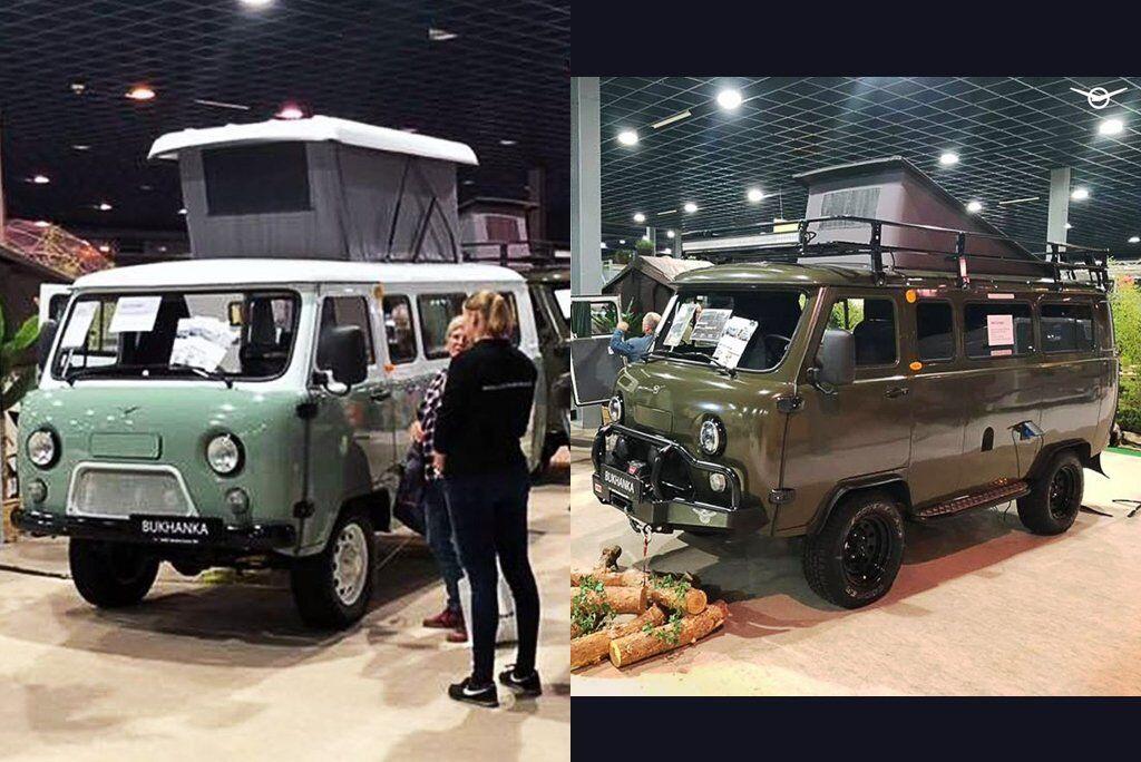 Автокемпер на базі УАЗ на виставці Kampeer&Caravan Jaarbeurs 2019