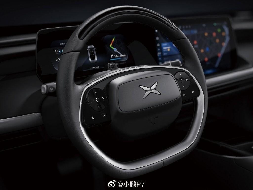 Рульова панель Xiaopeng P7