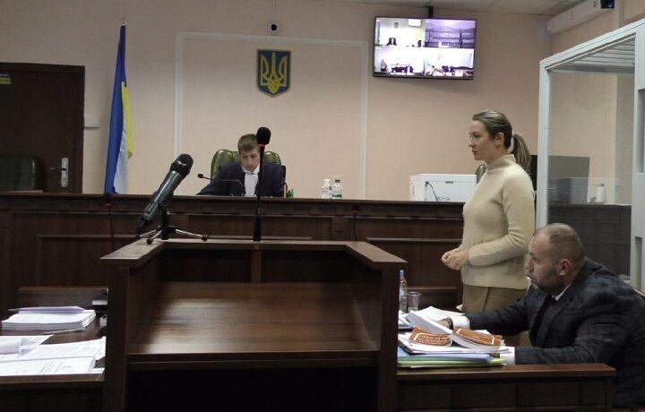 Світлані Кузьмінській обирали запобіжний захід 26 грудня