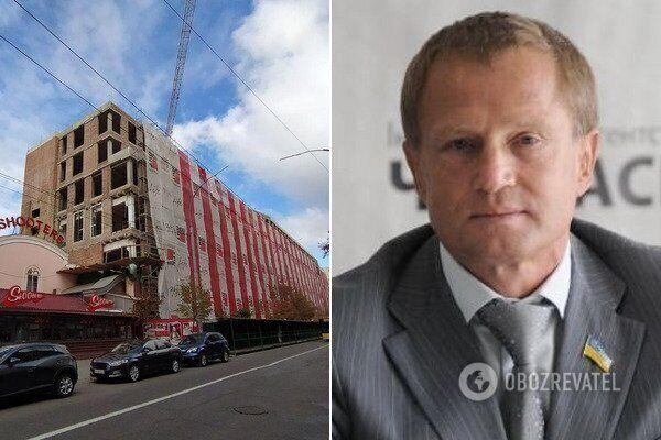 Володимир Зубик і незаконна забудова на Московській