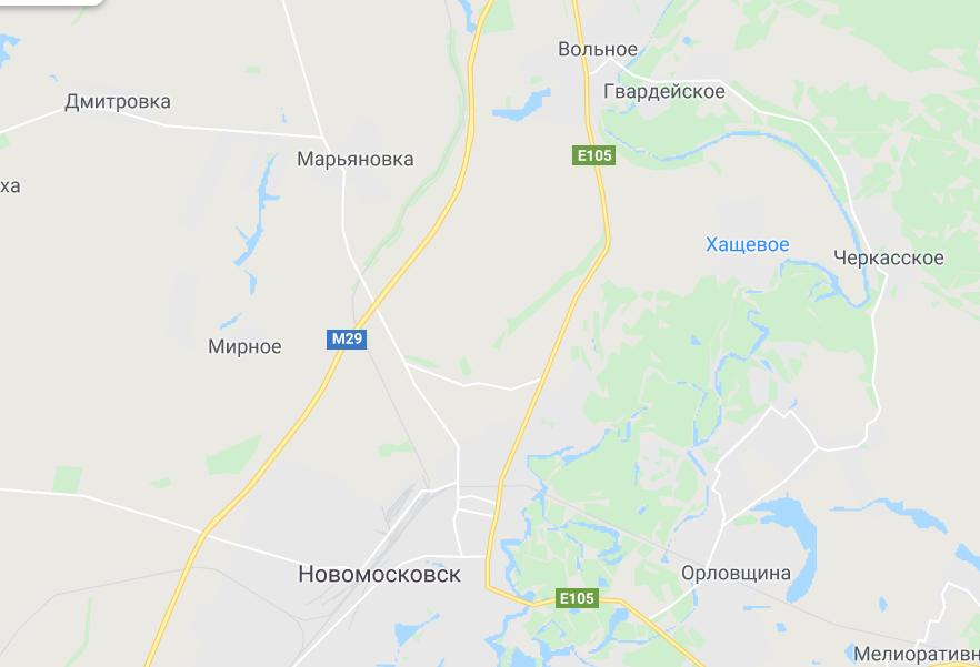 Аварія трапилася між Вільним і Новомосковськом