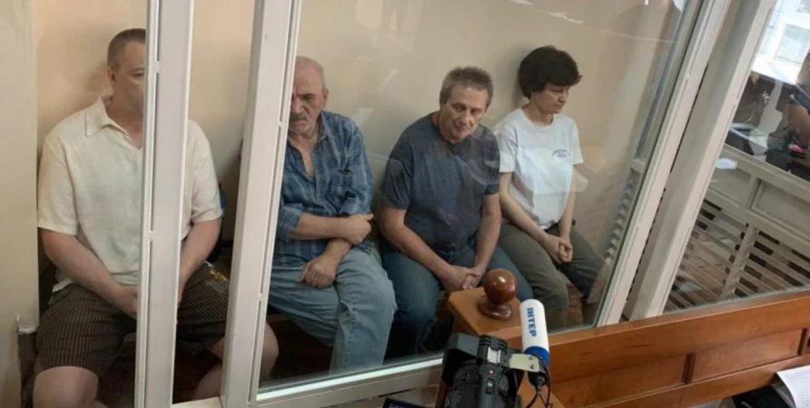 Олександр Шевцов, Ігор Удовенко, Євген Подмазко і Катерина Фотеєва
