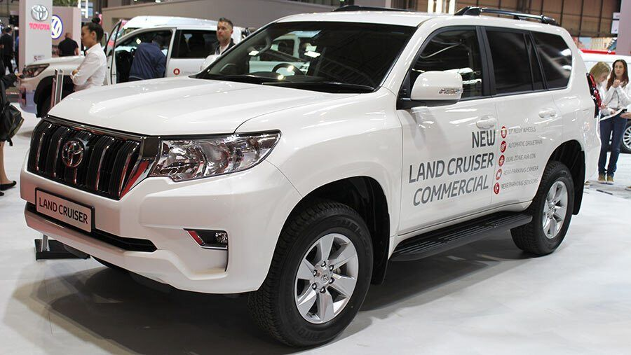 Toyota Land Cruise Active Commercial