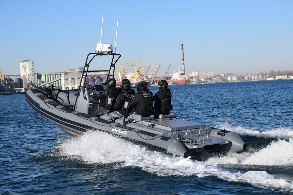 Українські спецпідрозділу отримали нові катери