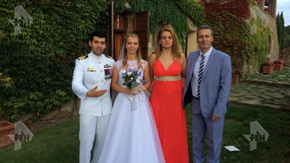 Свадебное фото мошенника