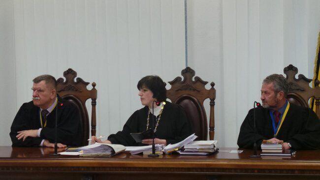 Суд у справі беркутівців