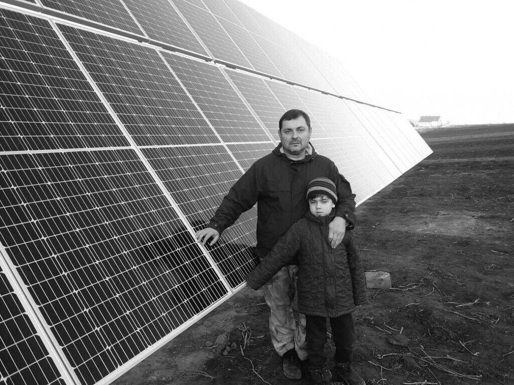 Руслан Скурский вместе с сыном