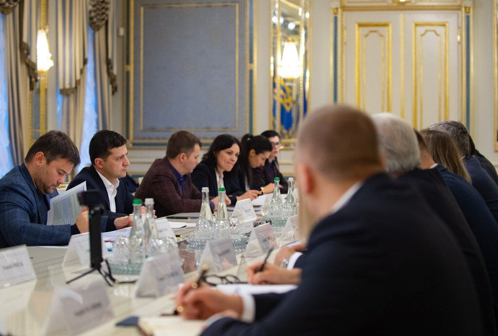 Встреча Владимира Зеленского с нефтетрейдерами