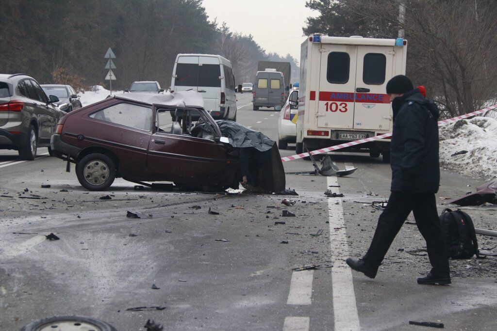 В аварії на Столичному шосе загинули три людини