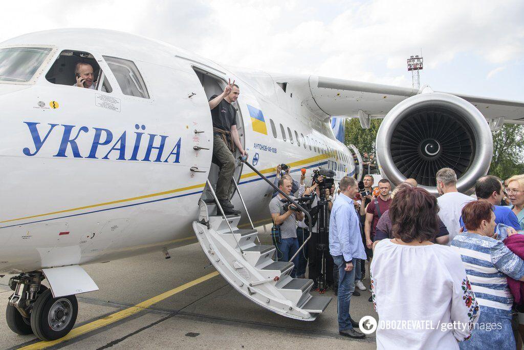 Возвращение украинцев домой