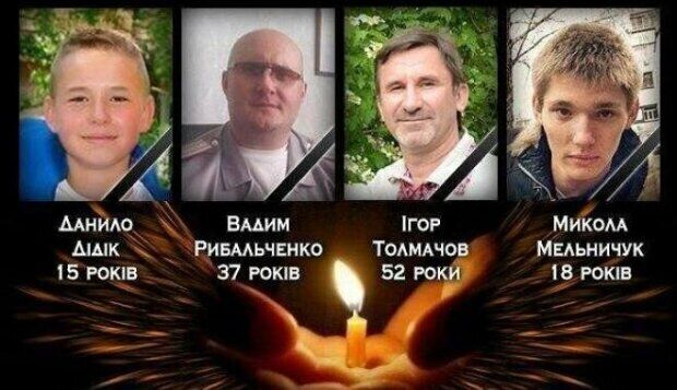 Загиблі під час вибуху в Харкові