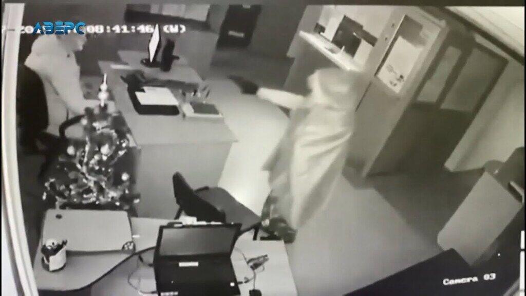 Грабіжник втік із місця злочину