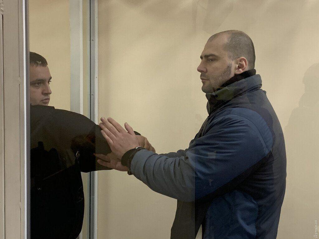 Владимир Грубник, осужденный за взрыв у стен СБУ в Одессе