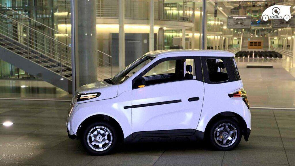 Российский электромобиль Zetta
