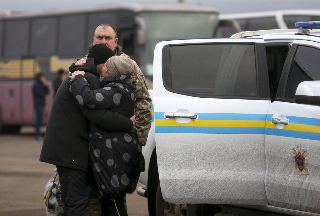 Українці повернулися з полону