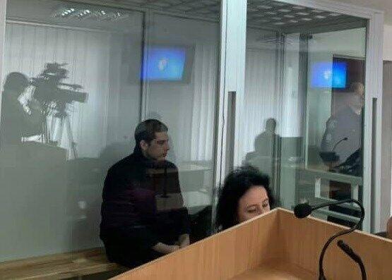 Рафаэль Лусварги в суде