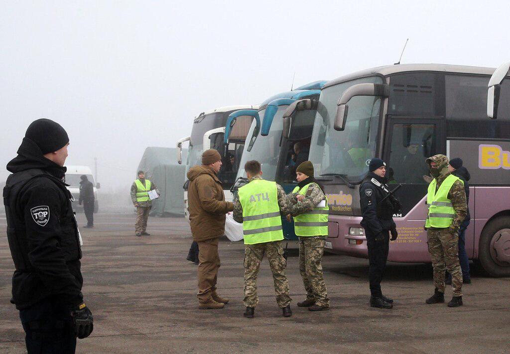 Обмен пленными в Украине