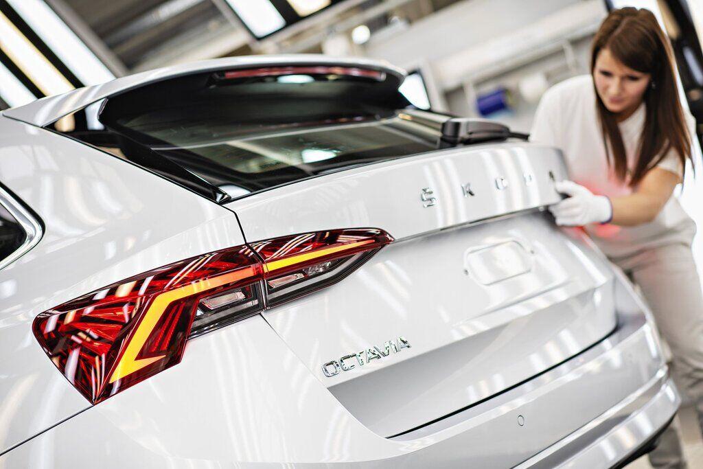 Skoda Octavia 2020 вже на конвеєрі