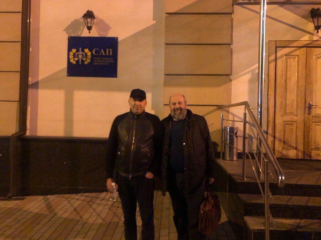 Альперін і його адвокат біля САП