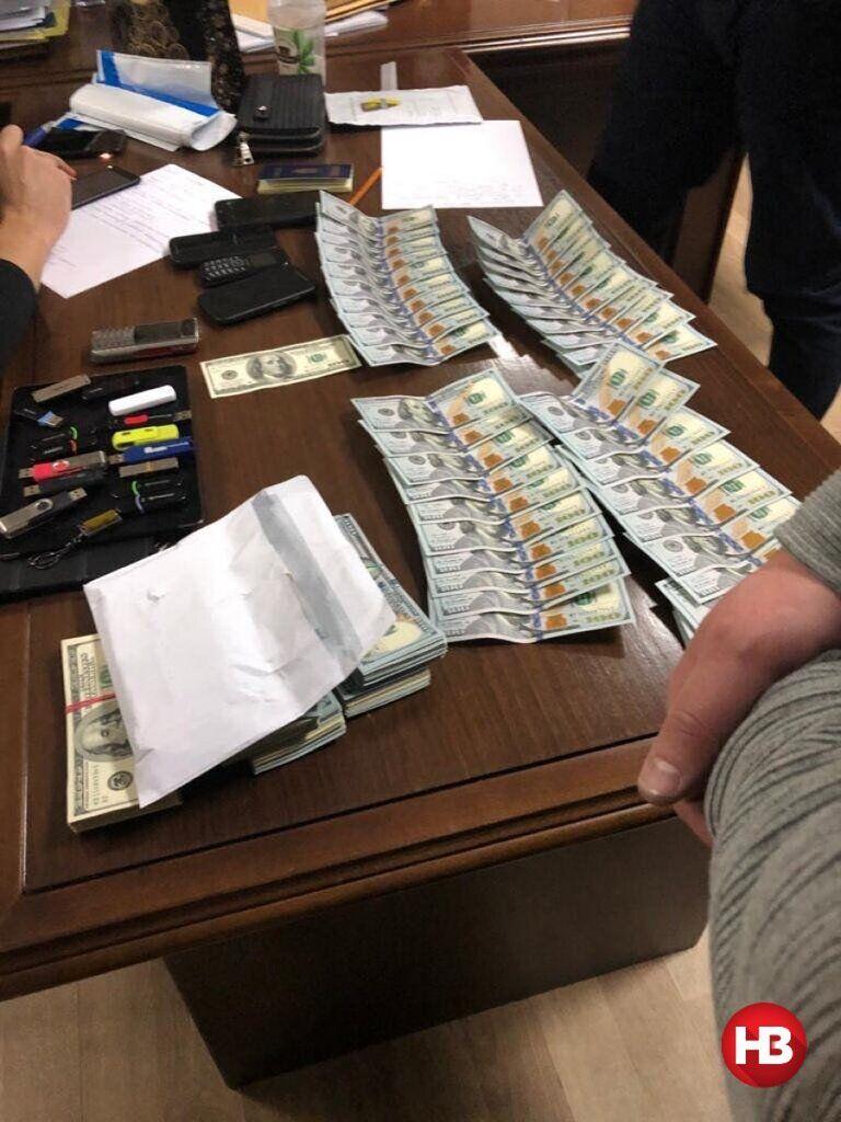 Деньги, обнаруженные при обыске