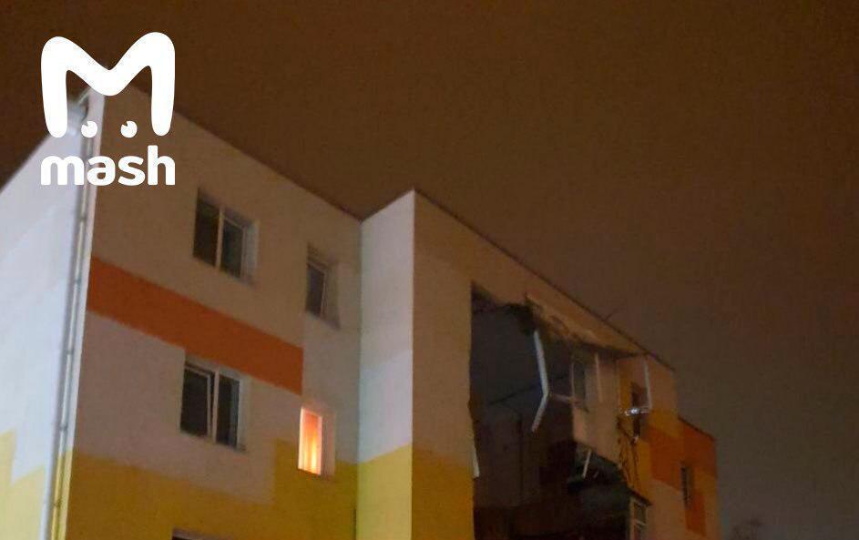 Під Бєлгородом вибухнув житловий будинок