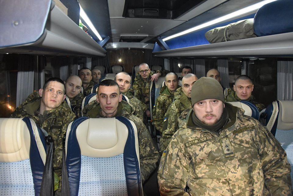 Возвращенные из плена военные