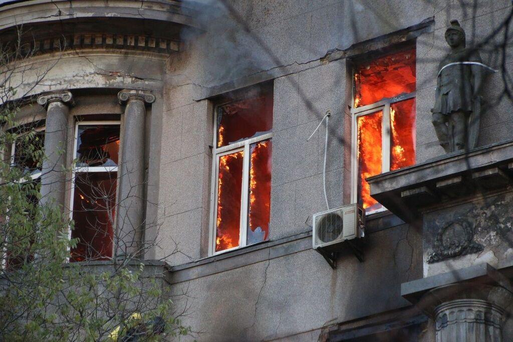 Пожежа в коледжі Одеси: з'явилися нові дані про загиблу
