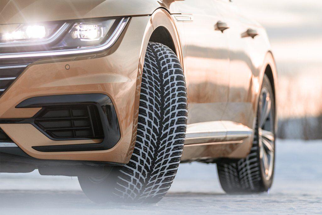 Новинка сезона – фрикционные шины Nokian WR Snowproof для мягких зимних условий