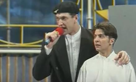 Михаил Гуликов и Владимир Зеленский в КВН