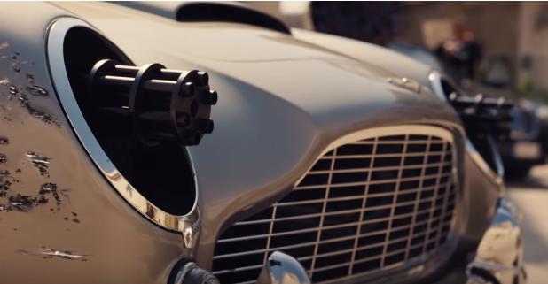Aston Martin з кулеметами