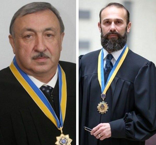 Судді господарського суду – Татьков (зліва) і Ємельянов
